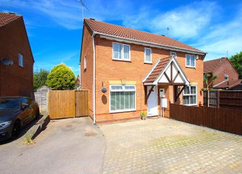 Thumbnail 3 bed semi-detached house for sale in Alder Close, Leicester Forest East, Leicester