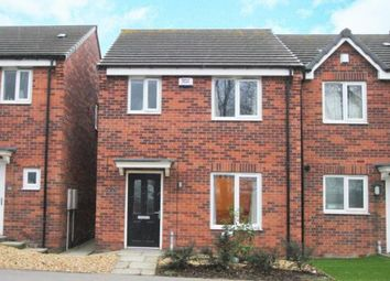 Thumbnail 3 bed town house for sale in Furnace Hill Road, Clay Cross, Chesterfield, Derbyshire