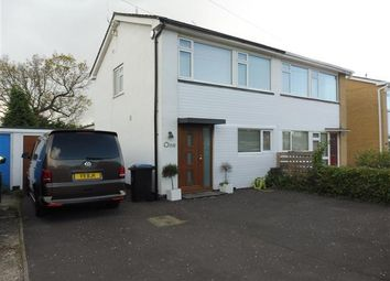 Thumbnail 3 bed semi-detached house to rent in Petersham Road, Upton, Poole