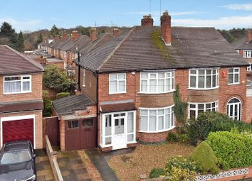 Thumbnail 3 bed semi-detached house for sale in South Kingsmead Road, Knighton, Leicester