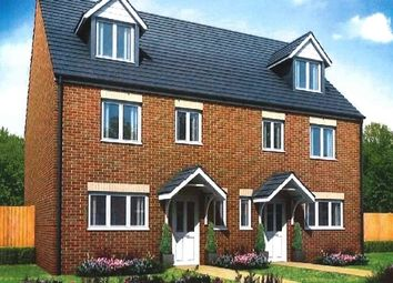 "Thumbnail 4 bedroom town house for sale in ""The Leicester"" at Upton Drive, Off Princess Way, Burton Upon Trent"