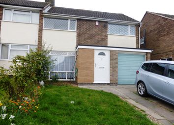 Thumbnail 3 bed property to rent in Barnet Close, Oadby, Leicester