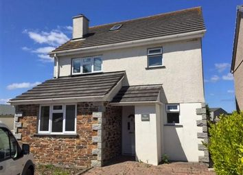 Thumbnail 4 bedroom detached house to rent in Station Approach, St. Columb Road, St. Columb