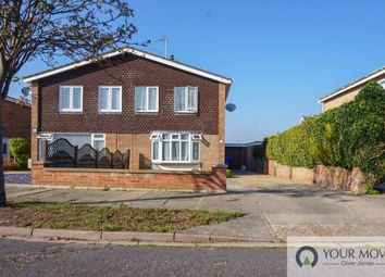 Thumbnail 3 bed semi-detached house to rent in Beverley Close, Lowestoft