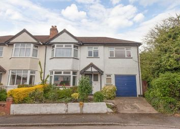 Thumbnail 5 bed semi-detached house for sale in Barrow Avenue, Carshalton