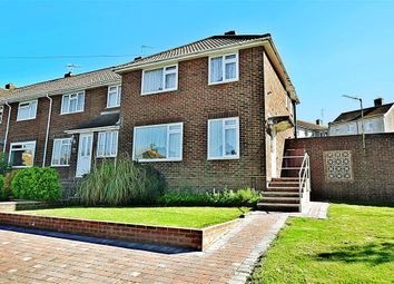 Thumbnail 3 bed end terrace house for sale in Oakapple Road, Southwick, Brighton, West Sussex