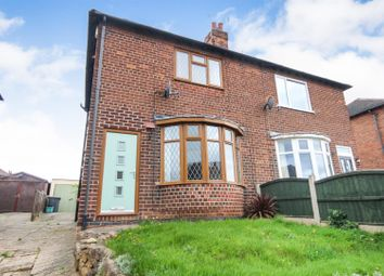 Thumbnail 2 bedroom semi-detached house for sale in Norbett Road, Arnold, Nottingham