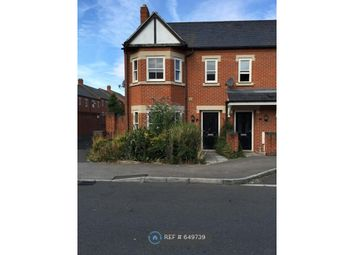 Thumbnail 3 bed end terrace house to rent in Mccorquodale Road, Wolverton, Milton Keynes