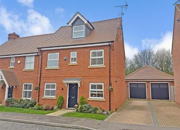 Thumbnail 4 bed semi-detached house for sale in Bell Hill Close, Billericay, Essex