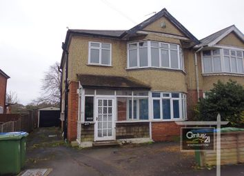 Thumbnail 1 bed flat to rent in Kitchener Road, Southampton