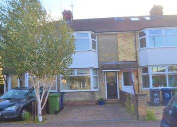 Thumbnail 3 bed terraced house to rent in Cromwell Road, Cambridge