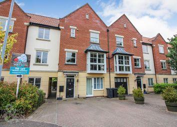 Thumbnail 4 bed town house to rent in Britannia Court, Trafalgar Square, Poringland, Norwich