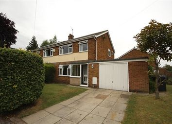 Thumbnail 3 bed semi-detached house to rent in Moss Green Lane, Brayton, Selby