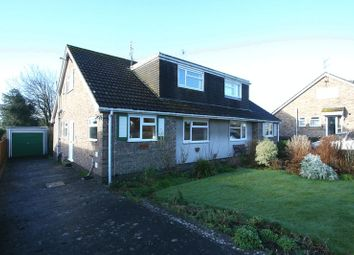 Thumbnail 3 bed semi-detached house for sale in Heol-Y-Felin, Llantwit Major