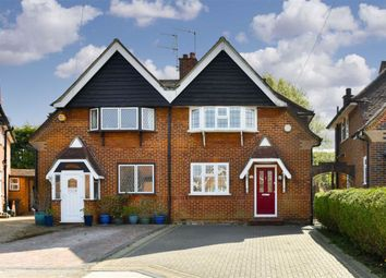Thumbnail 2 bed semi-detached house for sale in Elm Gardens, Epsom, Surrey