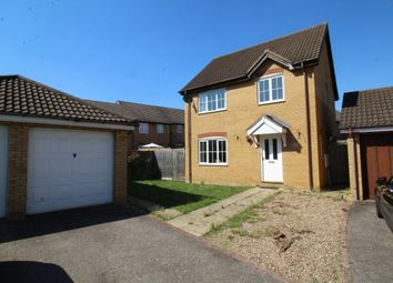 Thumbnail 3 bedroom detached house for sale in Embla Close, Bedford, Bedfordshire
