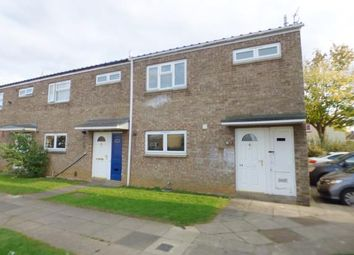 Thumbnail 3 bedroom end terrace house for sale in Johnson Walk, Peterborough, Cambridgeshire
