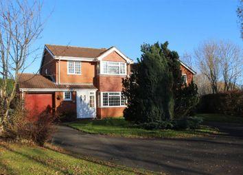 Thumbnail 4 bedroom detached house for sale in Streamside Way, Shelfield, Walsall