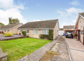 Thumbnail 2 bed semi-detached bungalow for sale in Brampton Close, Mickleover, Derby