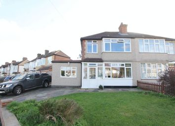 Thumbnail 3 bed semi-detached house for sale in Matlock Crescent, North Cheam, Sutton