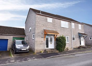 Thumbnail 3 bedroom semi-detached house for sale in Holm Oaks, Butleigh, Glastonbury