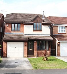 Thumbnail 4 bed detached house to rent in Newark Close, Huyton, Liverpool