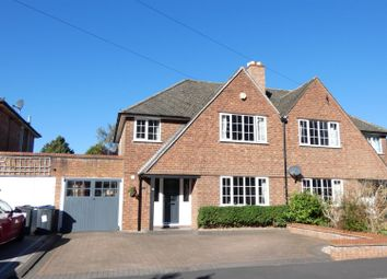 Thumbnail 3 bed semi-detached house for sale in Lichfield Road, Four Oaks, Sutton Coldfield