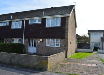 Thumbnail 3 bed end terrace house for sale in Dartmouth Close, Worle, Weston-Super-Mare
