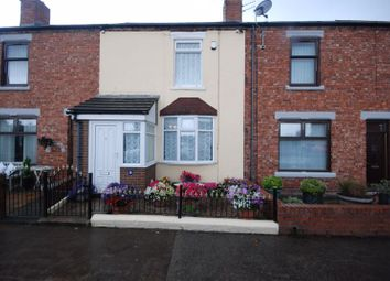 2 bed terraced house for sale in West Terrace, Stakeford, Choppington NE62