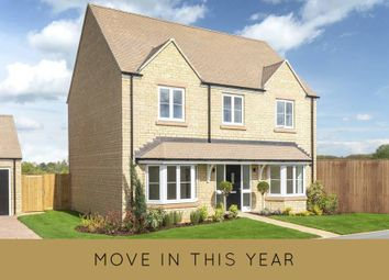 "Thumbnail 4 bed detached house for sale in ""The Blenheim"" at Church Road, Long Hanborough, Witney"