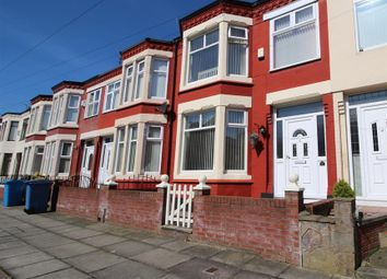 Thumbnail 3 bed town house for sale in Trevor Road, Liverpool