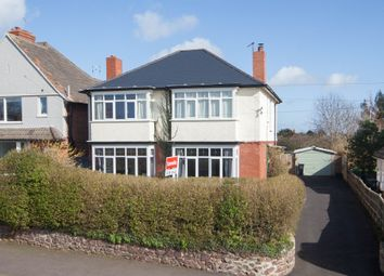 Thumbnail 4 bed detached house for sale in Cheddon Road, Taunton