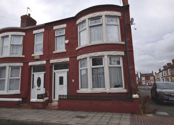 Thumbnail 3 bedroom end terrace house to rent in Hillcroft Road, Wallasey