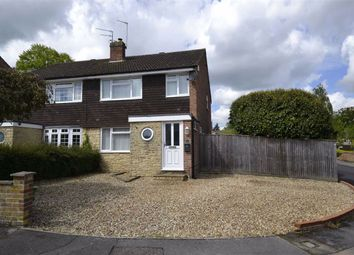 Thumbnail 3 bedroom semi-detached house for sale in Dalby Crescent, Newbury, Berkshire