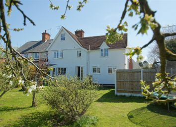 Thumbnail 3 bed semi-detached house for sale in Aldridge Lane, Fornham All Saints, Bury St. Edmunds