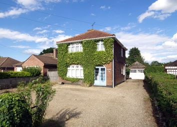 Thumbnail 3 bed detached house for sale in Woodside Road, East City, Norwich