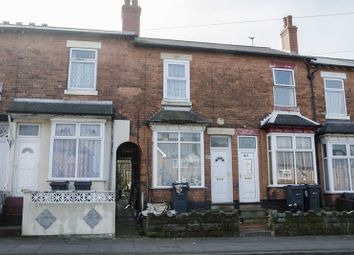 Thumbnail 2 bedroom terraced house for sale in Farnham Road, Handsworth, Birmingham