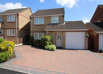 Thumbnail 3 bed detached house for sale in Nursery Gardens, Blofield, Norwich