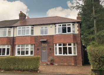 Thumbnail 4 bed semi-detached house for sale in Ravenswood Road, Wilmslow