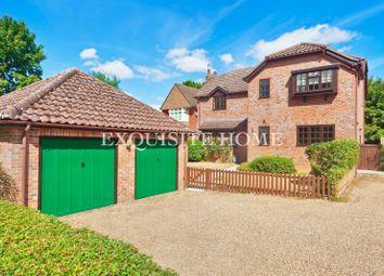 Thumbnail 4 bed detached house for sale in Lords Close, Sewards End, Saffron Walden