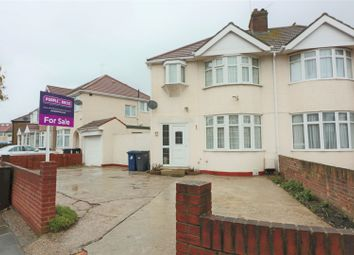Thumbnail 3 bed semi-detached house for sale in Cornwall Avenue, Southall