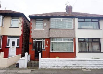 Thumbnail 3 bed semi-detached house for sale in Carisbrooke Road, Bootle