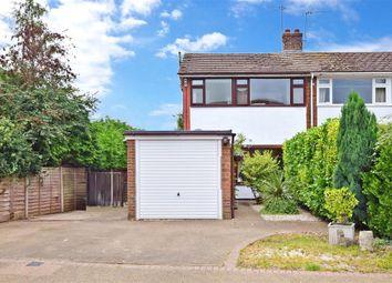 Thumbnail 3 bed semi-detached house for sale in Whetsted Road, Five Oak Green, Tonbridge, Kent
