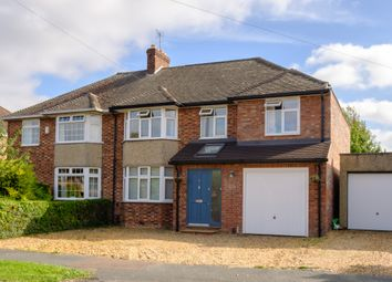 Thumbnail 4 bed semi-detached house for sale in Chalk Grove, Cambridge