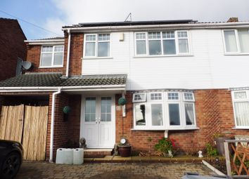 Thumbnail 4 bed semi-detached house to rent in Dove Road, Wombwell