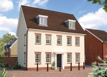 "Thumbnail 5 bed detached house for sale in ""The Warwick"" at Dudley Road, Honeybourne, Evesham"
