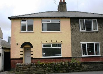 Thumbnail 3 bed semi-detached house to rent in Nottingham Road, Belper, Derbyshire