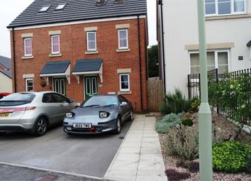 Thumbnail 3 bed semi-detached house for sale in Cilgant Y Lein, Pyle, Bridgend, Mid Glamorgan