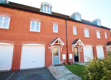 Thumbnail 3 bed town house for sale in Bridgewater Road, Burton-On-Trent
