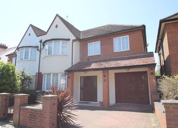 Thumbnail 4 bed semi-detached house to rent in Hervey Close, London